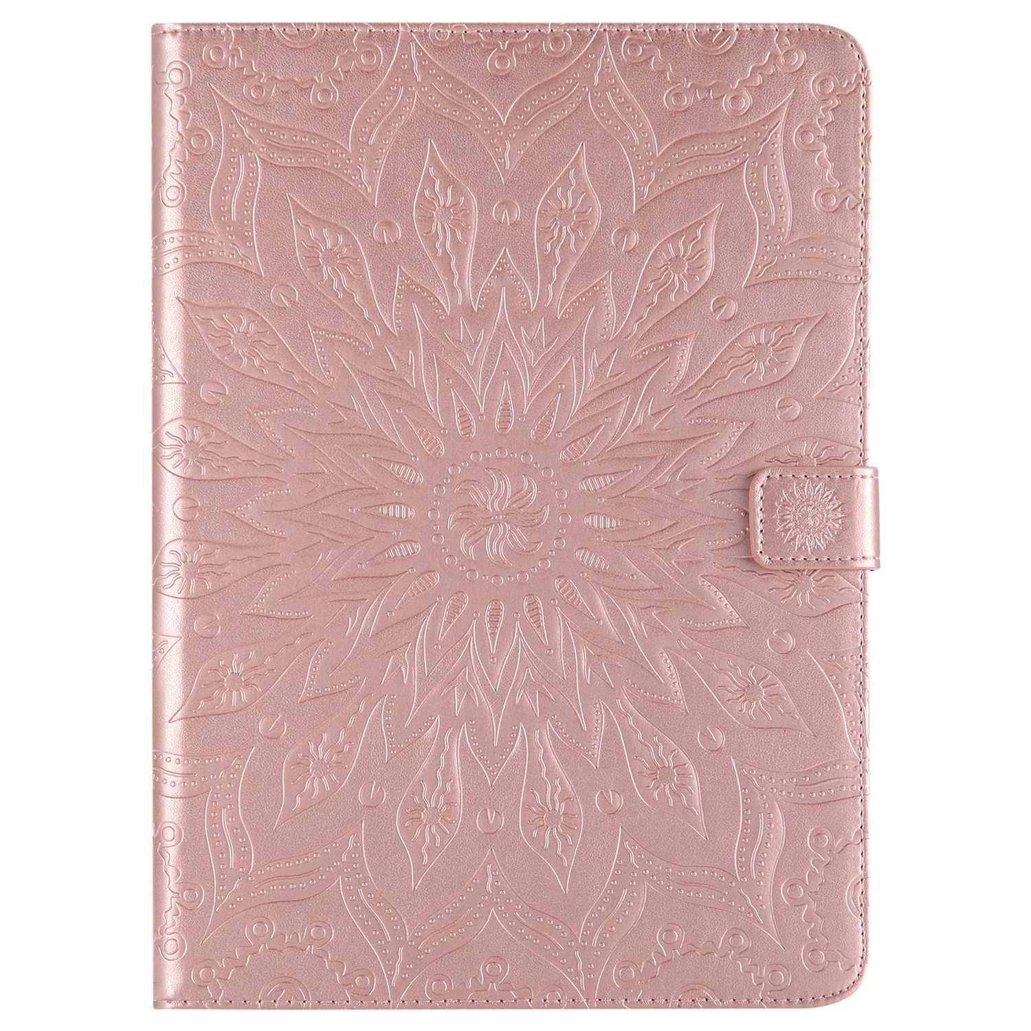 Bear Village iPad Air 2 (9.7 Inch) Case, Anti Scratch Shell with Adjust Stand, Full Body Protective Cover for Apple iPad Air 2 (9.7 Inch), Rose Gold by Bear Village