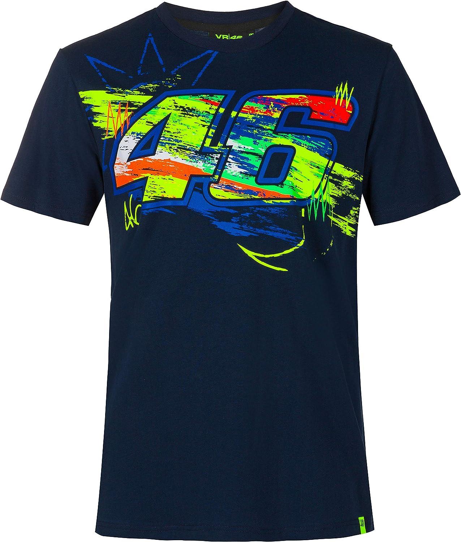 Valentino Rossi Colecci/ón Vr46 Classic Camiseta Hombre