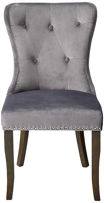 Amazon.com: Sillones de comedor, silla sin reposabrazos con ...