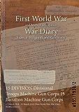 15 DIVISION Divisional Troops Machine Gun Corps 15 Battalion Machine Gun Corps : 17 March 1918 - 31 March 1919 (First World War, War Diary, WO95/1930/2)