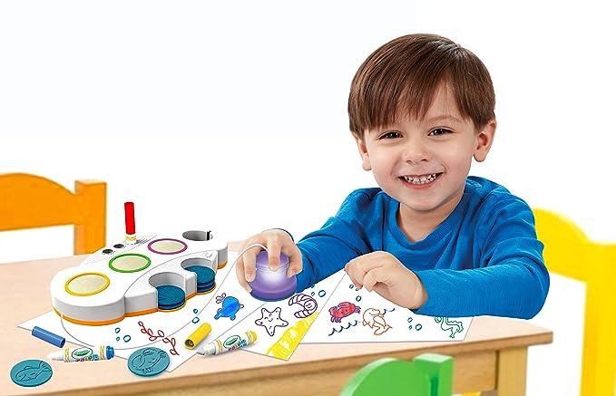 Crayola Farbwunder Aufleucht-Stempel: Amazon.de: Spielzeug