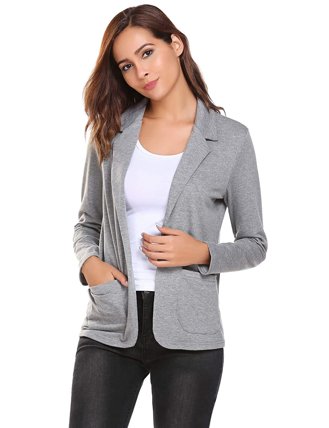 93d06898063 Amazon.com: Fanala Black Blazer for Women red Suit Jacket Womens Womens  Formal Jackets Casual Jackets: Clothing