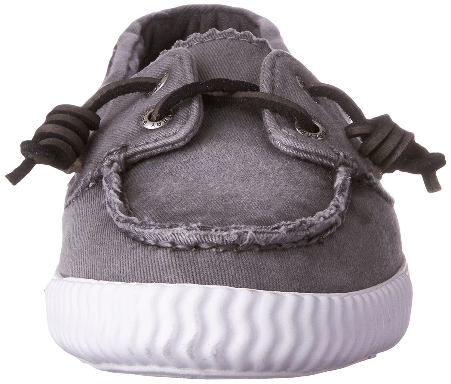 SPERRY Womens Sayel Away Washed Penny Loafer 060 M US Grey