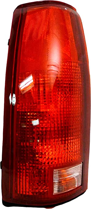 Amazon Com Chevy Pickup 88 99 Left Rear Taillight Taillamp W Circuitboard Lens Housing Automotive