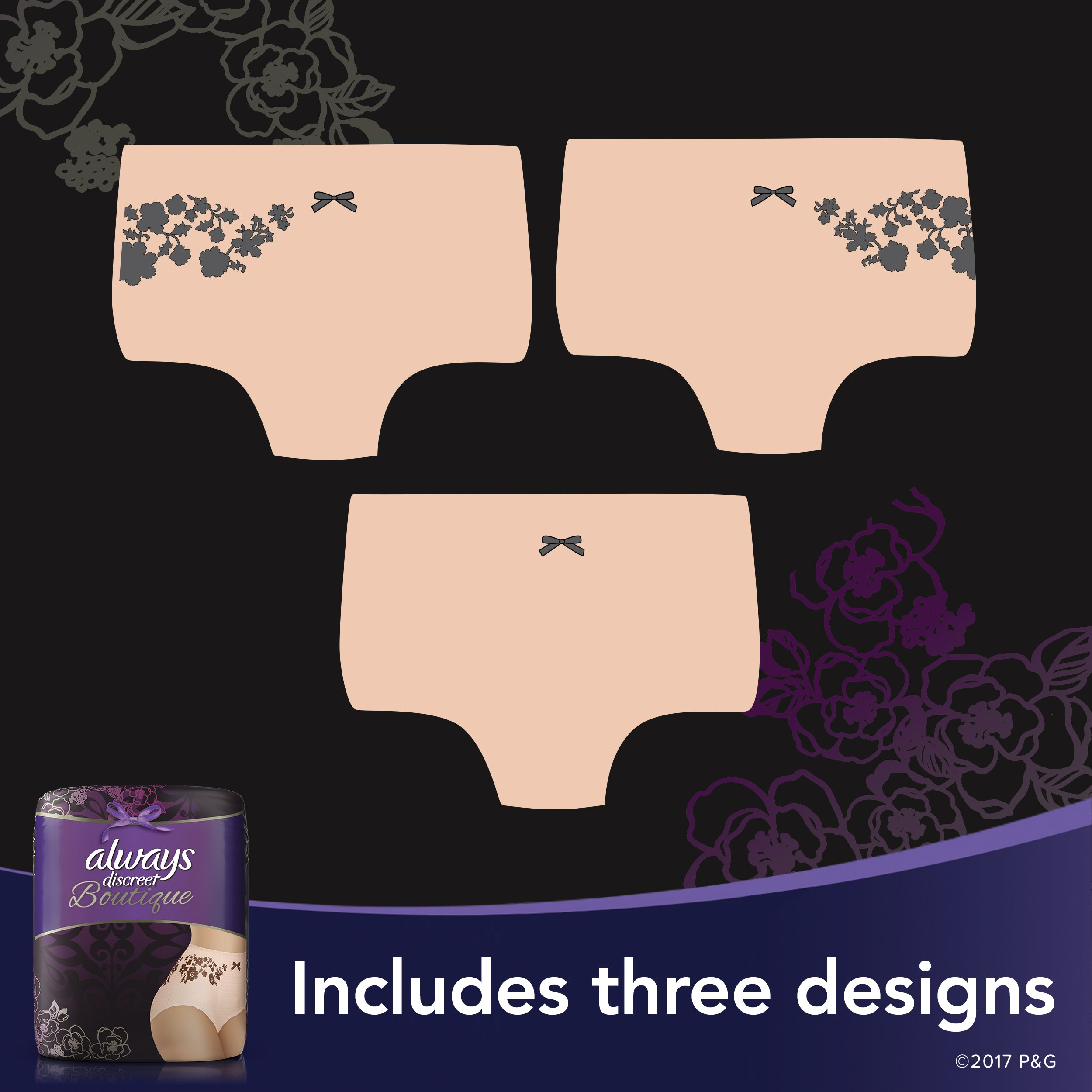 Always Discreet Boutique Incontinence Maximum Protection