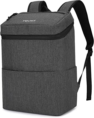Hiking Travel Camping Picnic Beach Trip TOURIT Backpack Cooler Insulated Cooler Backpack Leakproof Soft Cooler Backpack for Men Women to Work
