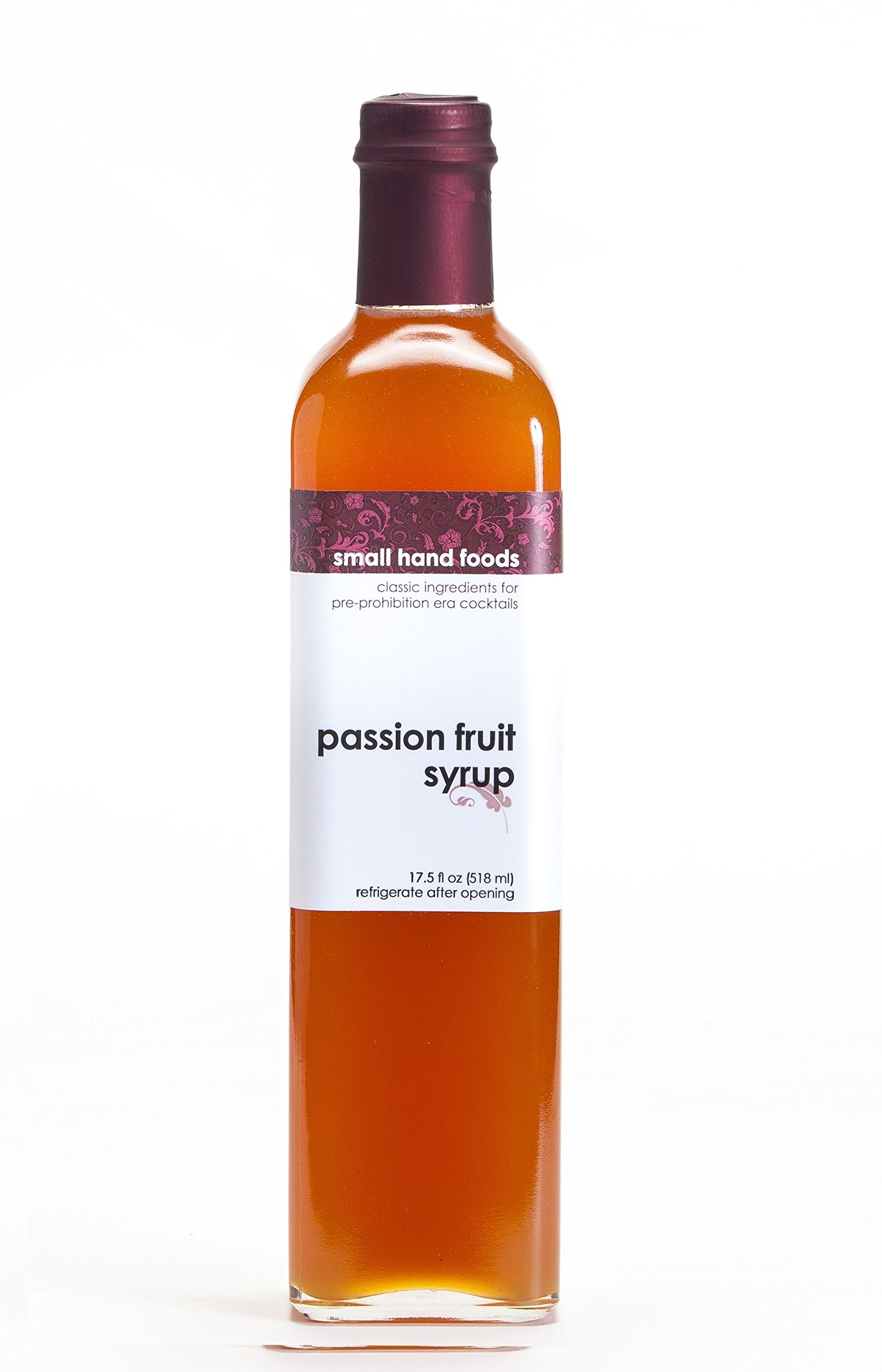 SMALL HAND FOODS Passion Fruit Syrup, 500 ml by Small Hand Foods (Image #1)