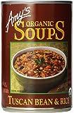 Amy's Organic Soups, Tuscan Bean & Rice, 14.1 oz
