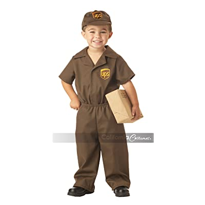 California Costumes Ups Driver Toddler Costume, 2-3: Toys & Games