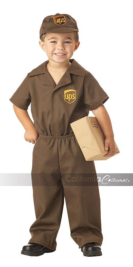 California Costumes Ups Driver Toddler Costume 2-3  sc 1 st  Amazon.com & Amazon.com: California Costumes Ups Driver Toddler Costume 2-3 ...