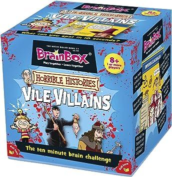 Brain Box - Halloween Vile Villains, Juego de Mesa en inglés ...