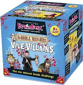 Brain Box - Halloween Vile Villains, Juego de Mesa en inglés (90023): Amazon.es: Juguetes y juegos