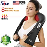 Dr Physio (USA) Electric Heat Shiatsu Machine Body Massagers (for Cervical Neck Shoulder & Back Pain Relief)