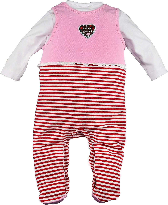 BONDI Strampler /´Kitz/´ Tracht Baby M/ädchen Artikel-Nr.86191