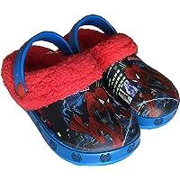 Disney Arnetta Spiderman Pantofole in Gomma Modello Crocs con Pelliccia Art.S18195