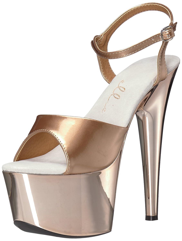 Ellie Shoes Women's 709-Bria Platform Sandal B07228CNWR 9 B(M) US|Bronze