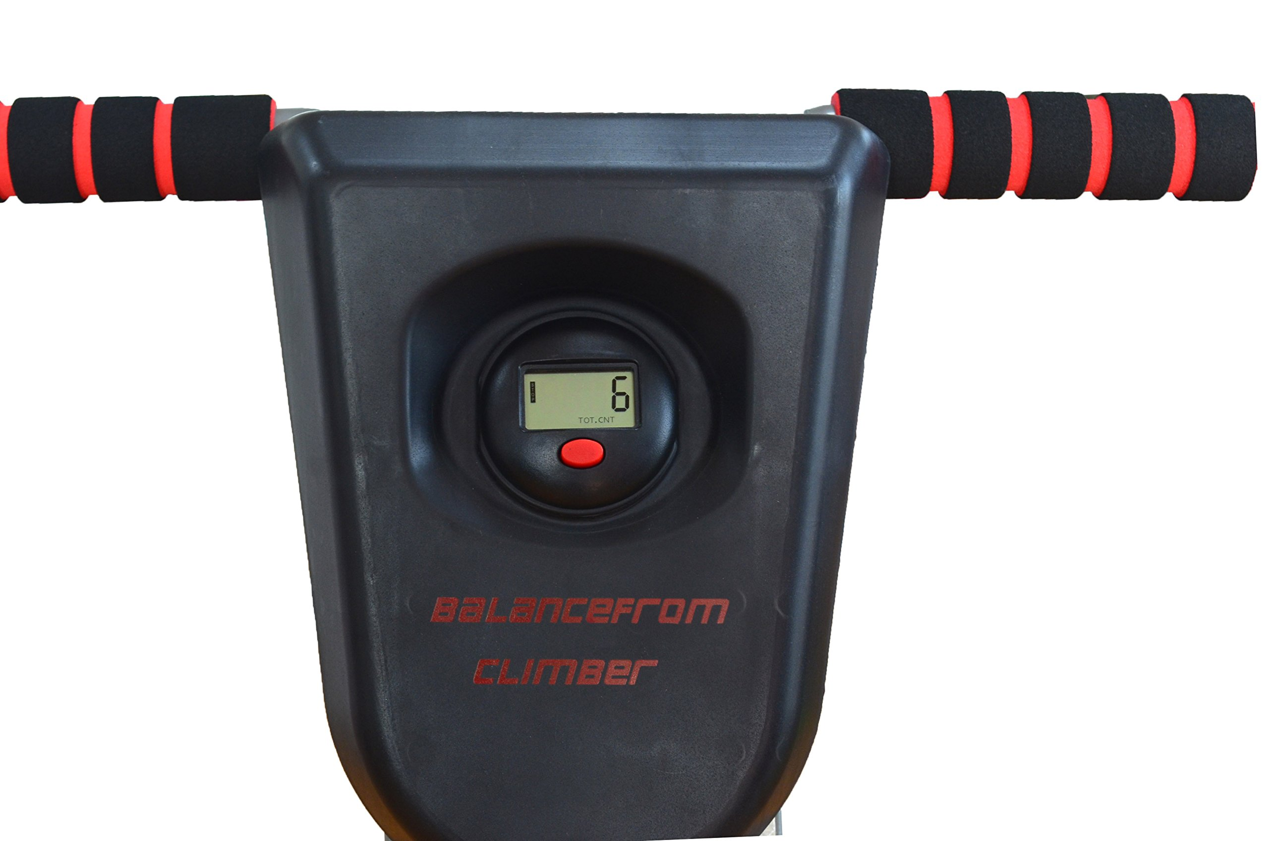 BalanceFrom Vertical Climber with Cast Iron Frame and Digital Display [Newest Version] by BalanceFrom (Image #5)