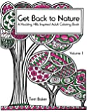 Get Back to Nature: A Hocking Hills Inspired Adult Coloring Book