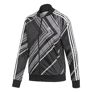 224e2ee5f0e Veste de survêtement Femme Adidas SST Graphic Black  Amazon.fr ...