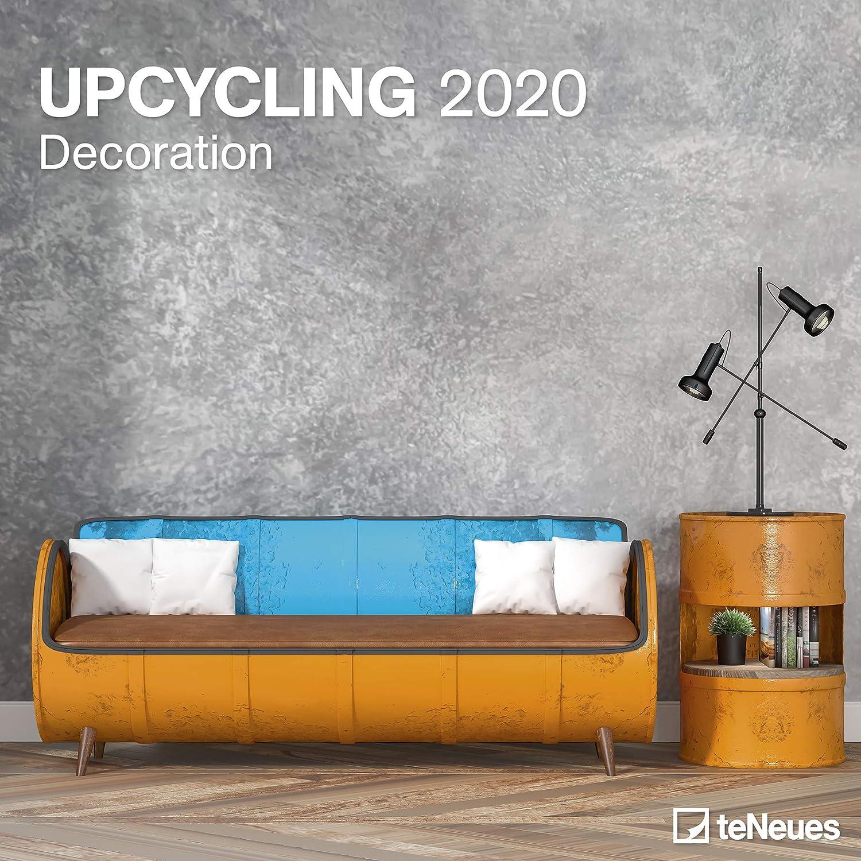 CALENDRIER 2020 DECORATION MAISON RECYCLE FORMAT 30x30cm home staging deco upcycling TN + offert un agenda de poche 2020 deco maison