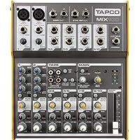 Tapco 专业小型调音台 Mix100 10路调音台带幻想电源