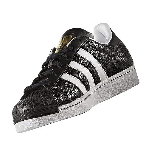 Adidas Superstar Reptile J Zapatillas para Niño Negro, 36 2/3: Amazon.es: Zapatos y complementos