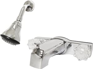 Homewerks 3010-501-CH Mobile Home Tub and Shower Faucet, Chrome
