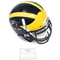 $349 » Charles Woodson Michigan Wolverines Signed Autograph Authentic On Field Proline Full Size Helmet Heisman Inscribe Fanatics Authentic…