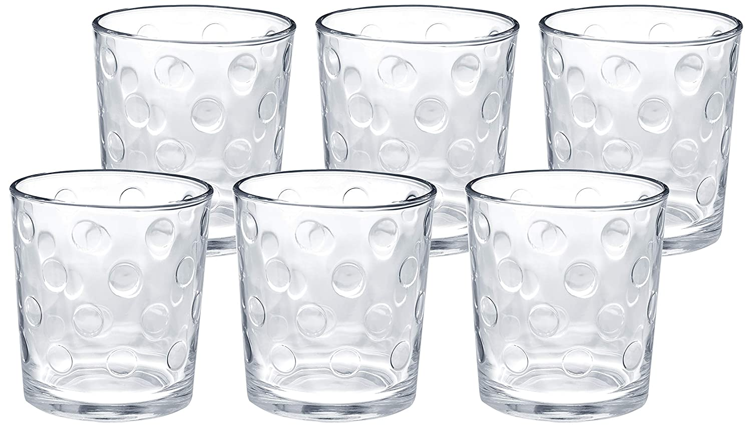Great Deal Solimo Whisky Glass, Set of 6