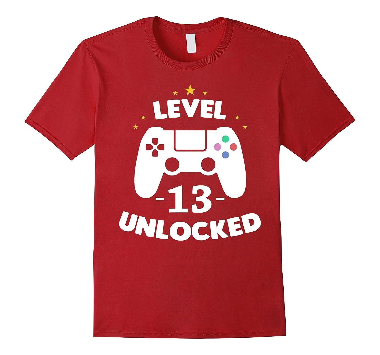 Gamer Shirt thirteent Birthday Party-Teechatpro