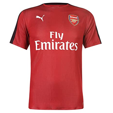 4b65f37bc Amazon.com   PUMA 2018-2019 Arsenal Stadium Jersey (Chilli Pepper ...