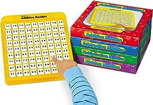 Lakeshore Self-Teaching Math Machines - Set of 4