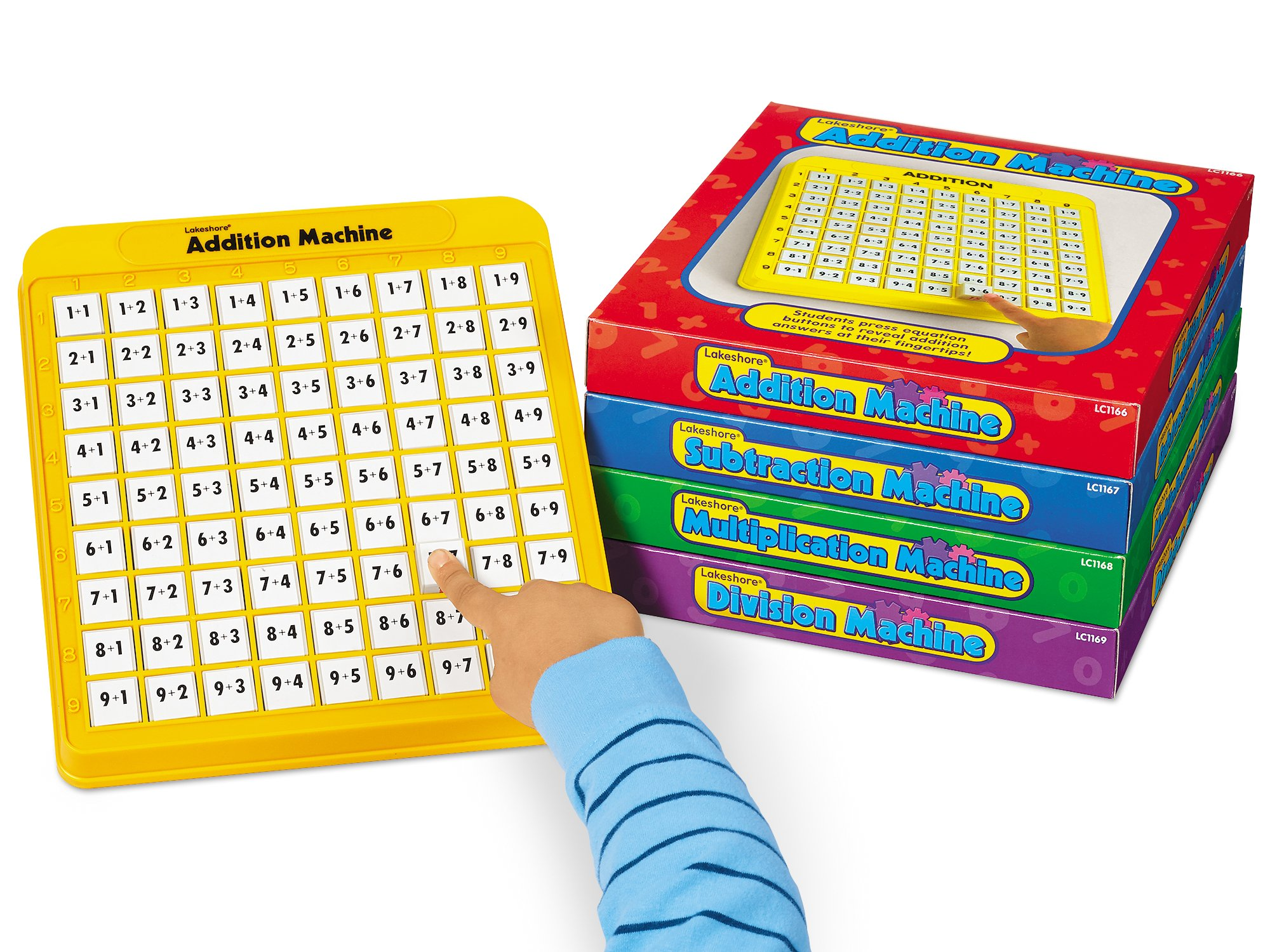 Lakeshore Self-Teaching Math Machines - Set of 4 by Lakeshore Learning Materials