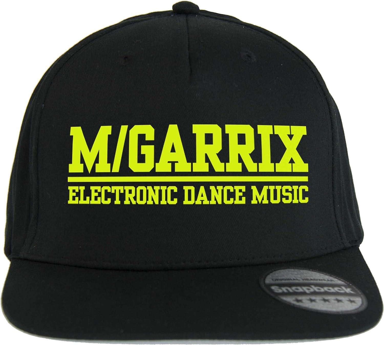 Doctor Music Shirt Chapeau Garrix DJ Slash Snapback Casquette Noir Maison Progressive Musique EDM Fluo