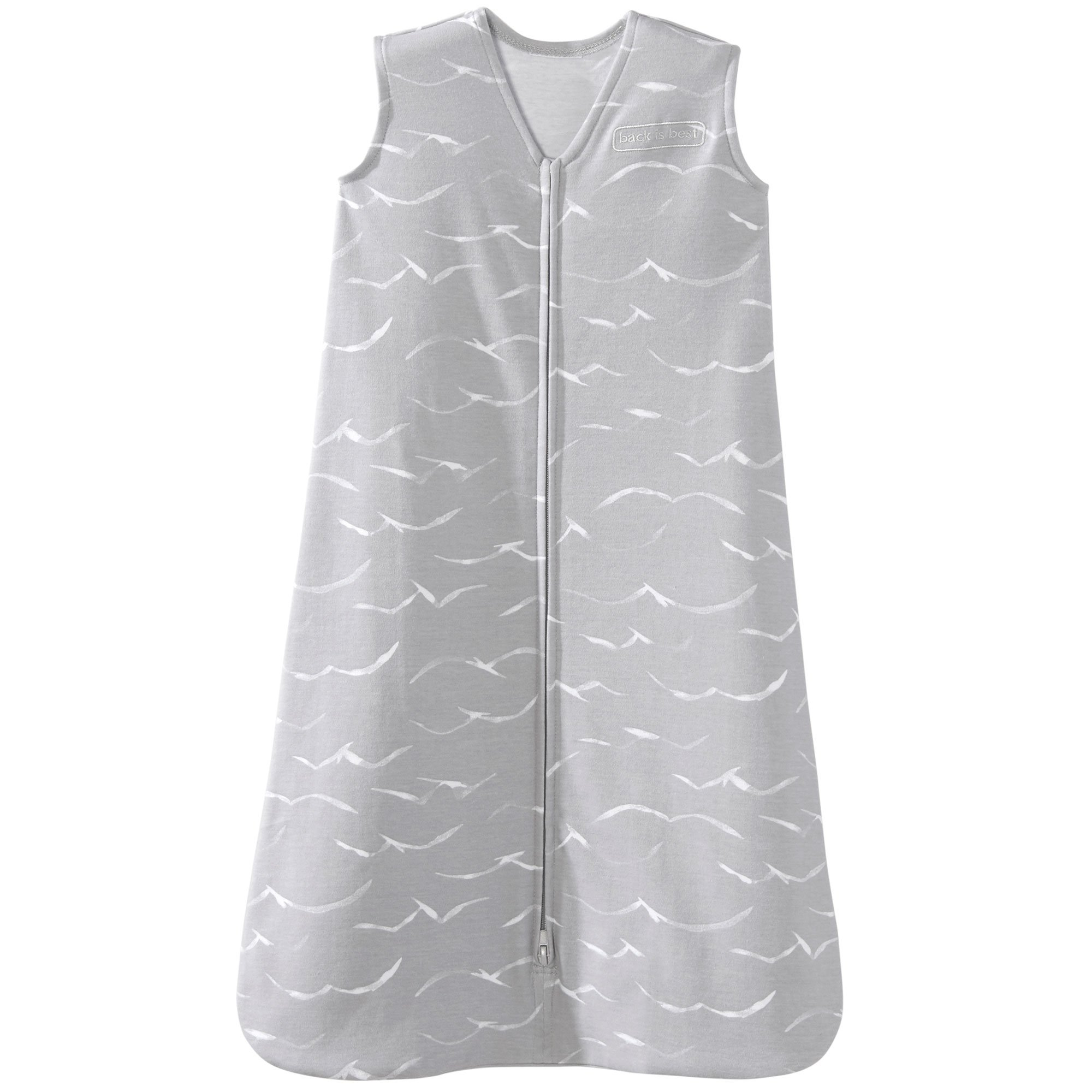 Halo 100% Cotton Sleepsack Wearable Blanket, Grey