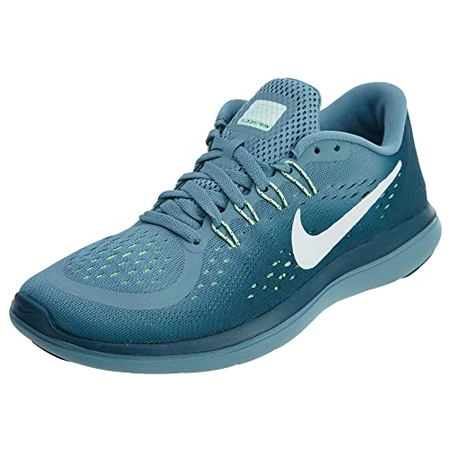 a346f20e2e0c9 Nike Women s Flex 2017 RN Running Shoe Cerulean White Space Blue Mint Foam  Size 9.5 M US  Buy Online at Low Prices in India - Amazon.in