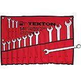 TEKTON 1937 MaxTorq Combination Wrench Set, Inch, 3/8-Inch - 1-1/4-Inch, 14-Piece