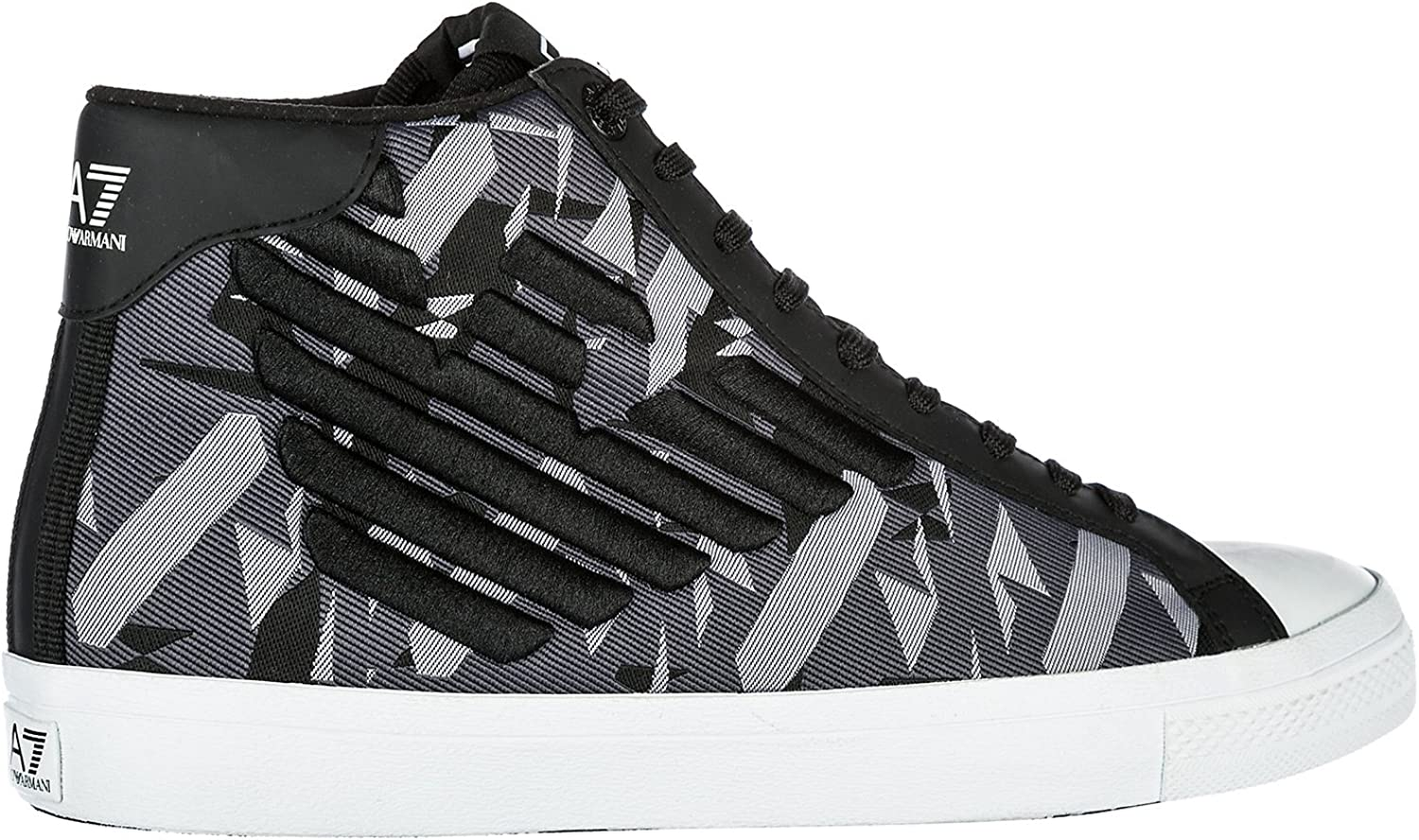 mens armani high top trainers
