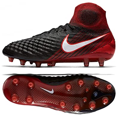 lowest price 62f8b 96daa Nike Magista Obra II AG-PRO Men s Soccer Cleats Black Red 844594-061 Sz