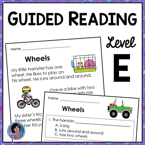 First Grade Reading Passages And Questions: Guided Reading Level E