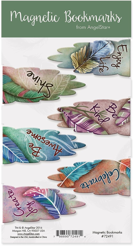 Angelstar 72491/Aimant Marque-Page/ /Lot de 6/Inspirants