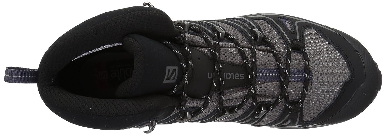 Salomon Women's X Ultra Mid 2 W Spikes GTX Snow Boot B016VWFU7S 5.5 B(M) US|Detroit/Black/Artist Grey-x