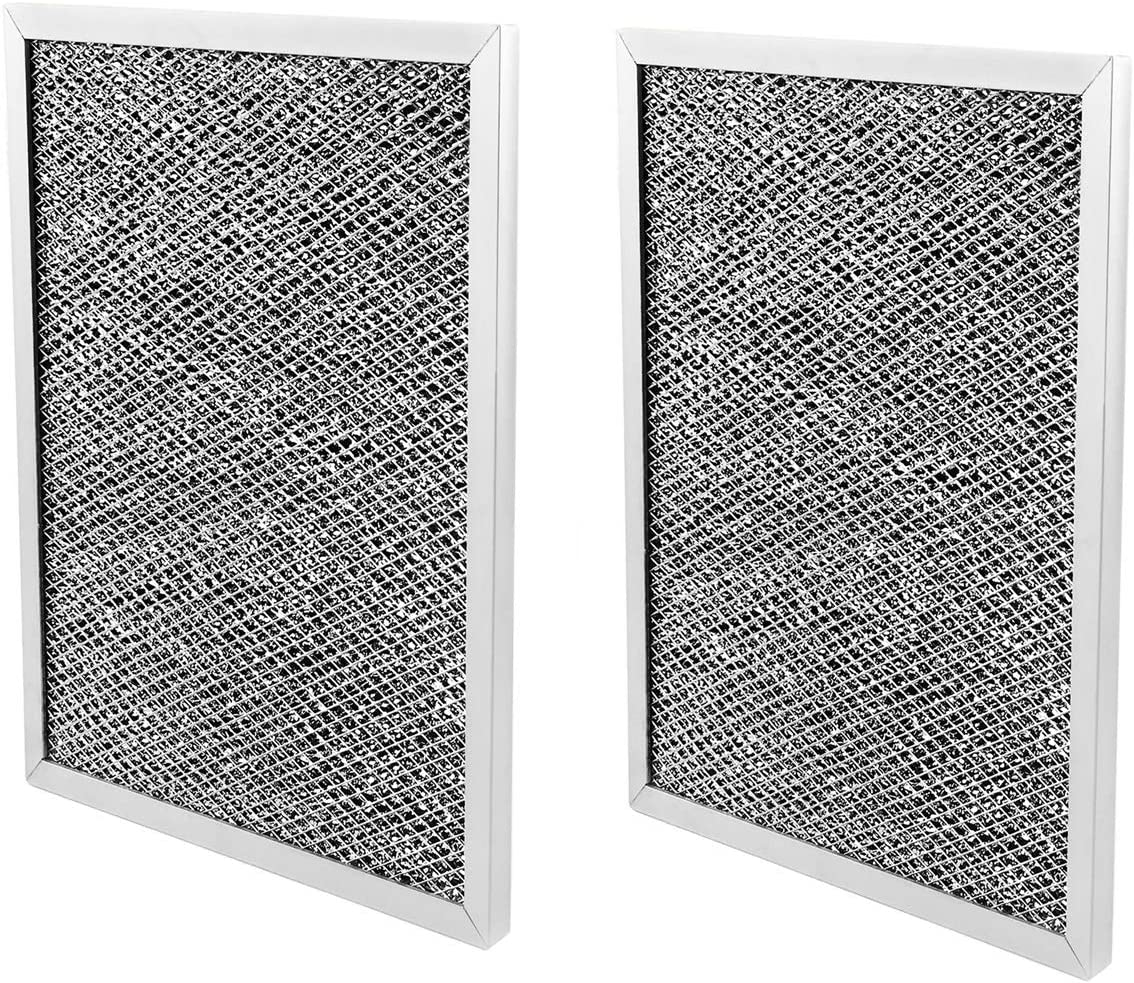 97007696 Charcoal Range Hood Filter for Broan 6105C,8-3/4 x 10-1/2 x 3/8 Inch - 2 Pack
