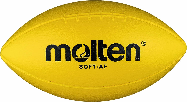 Molten Soft-AF - Pelota blanda de fútbol americano (270 mm), color amarillo