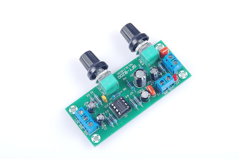 Amazon.com: KNACRO DC 10V-24V Low-pass Filter NE5532 Bass Tone ...