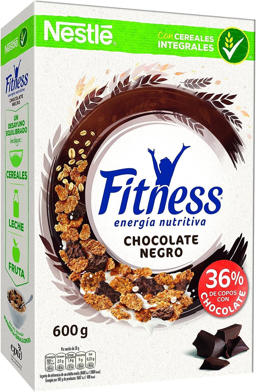 Nestlé Fitness - Cereales con Chocolate Negro - 4 Paquetes de 600 ...