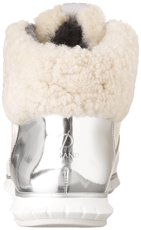 Cole Haan Women's Zerogrand Hikr Boot B071WPDP67 7.5 B(M) US Optic White Waterproof Patent-silver Spe