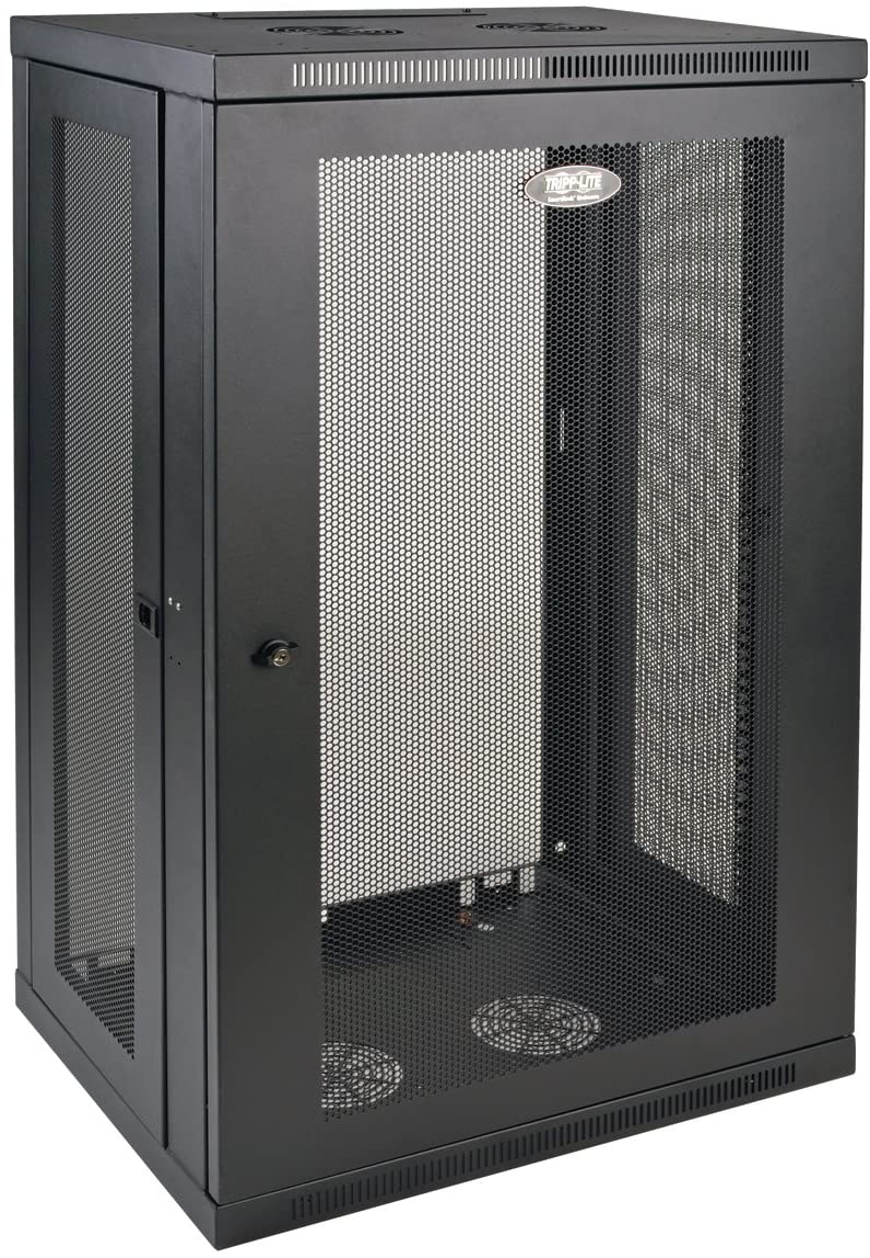 Tripp Lite 21U Wall Mount Rack Enclosure Server Cabinet, 16.5