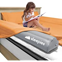 Inflatable Bed Rail for Toddlers - 2 Pack. Portable Bed Bumper. Kids Safety Bed Guard. Perfect for Home or Travel. Fits All Bed Sizes.