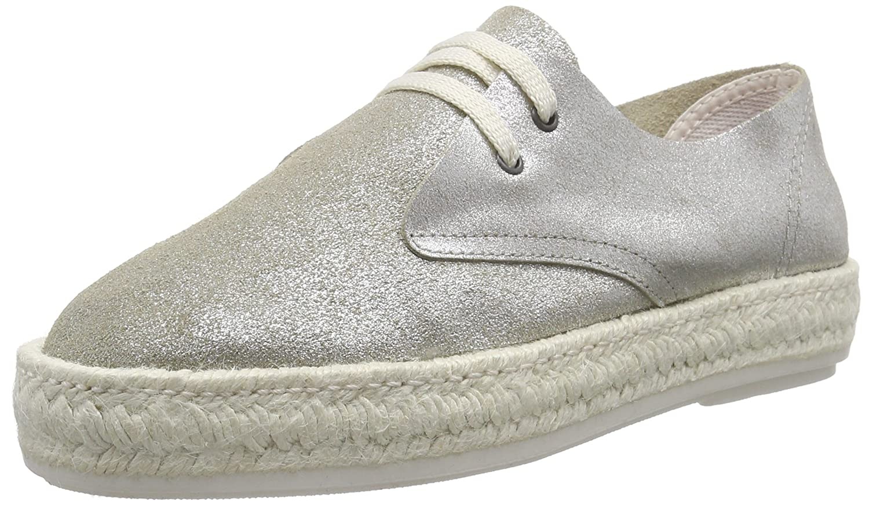 Bunker Sneaker - Zapatillas Mujer 38 EU|Plata